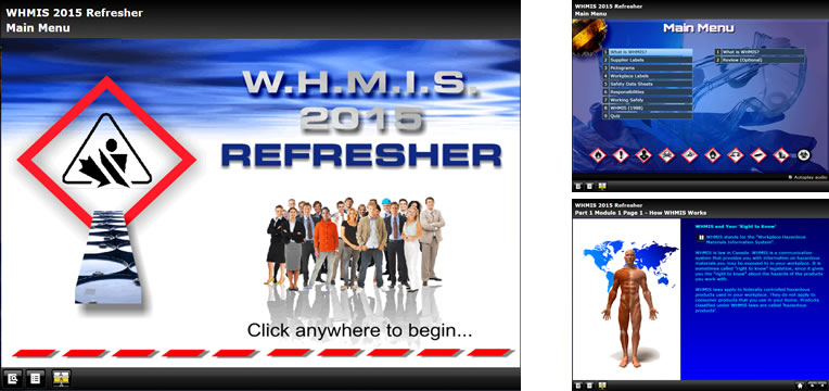 WHMIS refresher online course