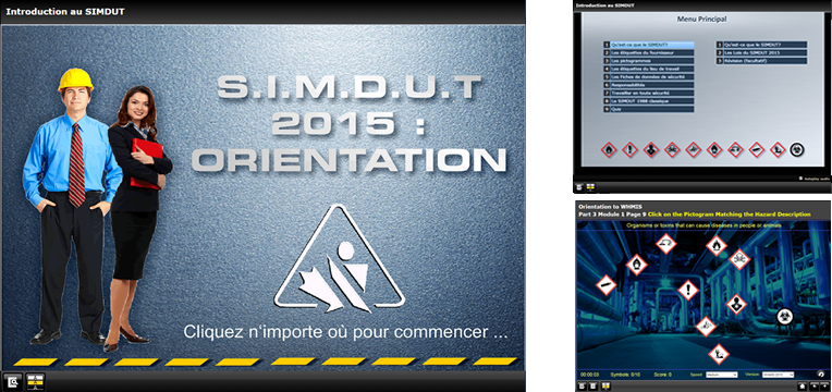 SIMDUT 2015 Orientation Training Image