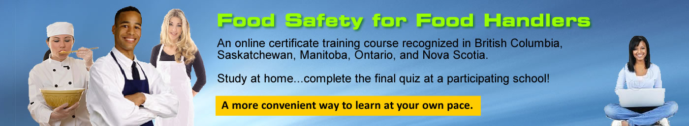 Food Safety for Food Handlers online training e-learning