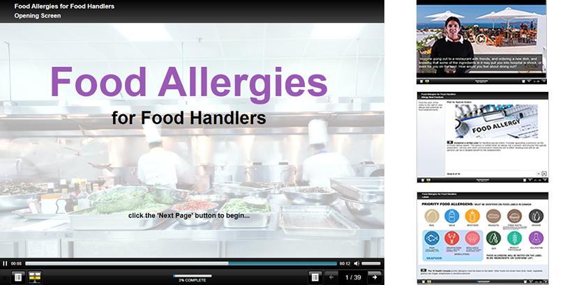 Food Allergies for Food Handlers image